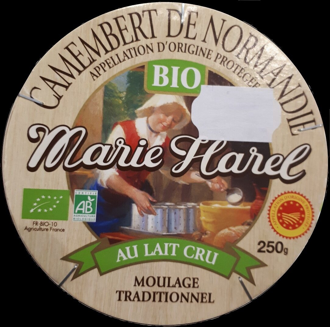 Camembert bio, au lait cru - Product - fr
