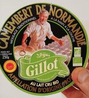 camembert de Normandie Gillot bio - Produit - fr