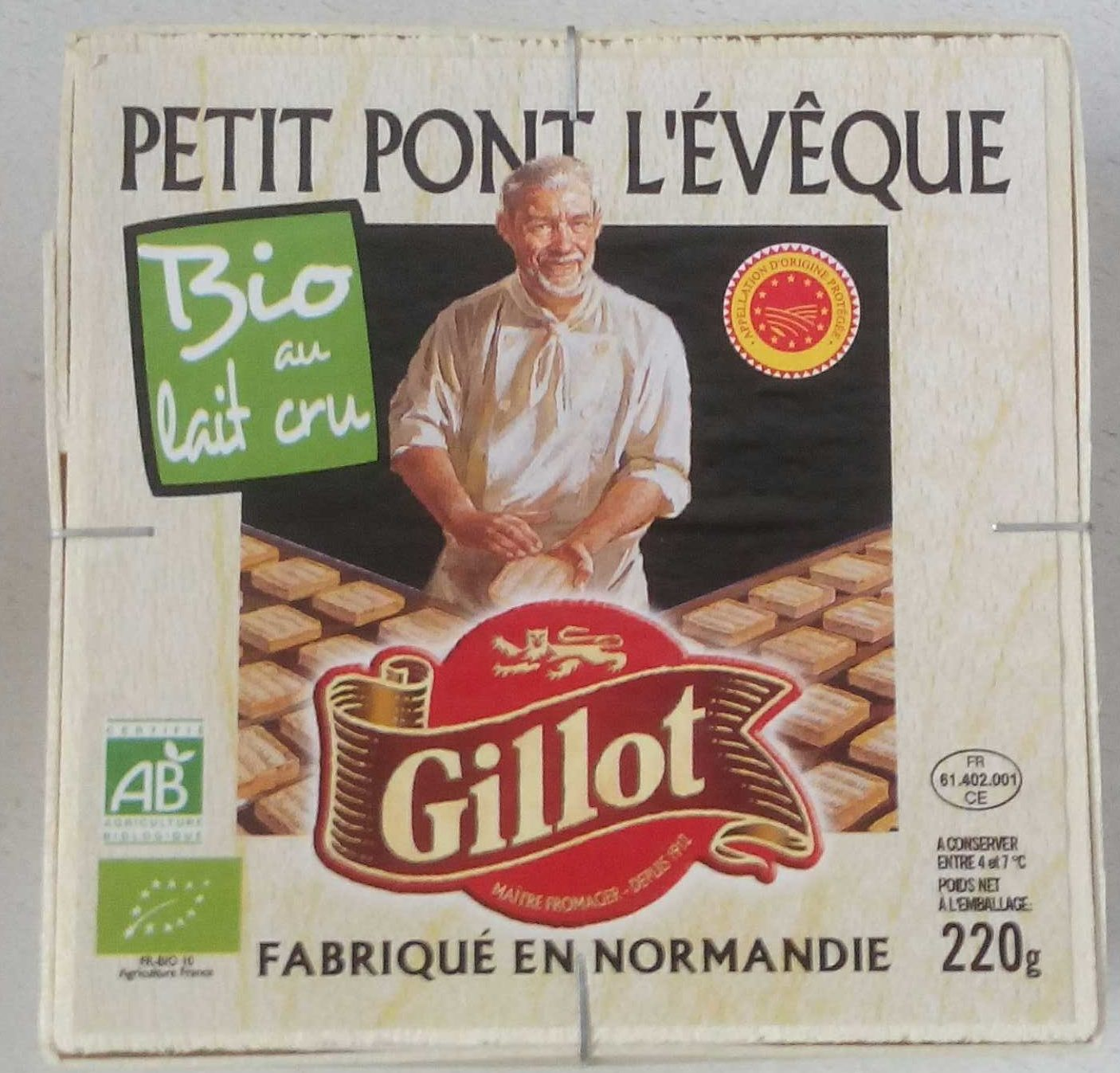 Petit Pont L'Evêque (24% MG) - Produit