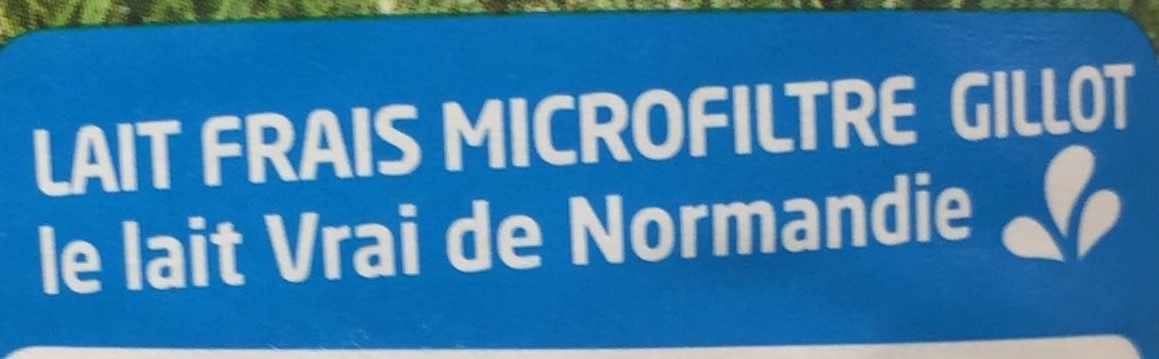 Lait frais de Normandie demi-écrémé - Ingrédients - fr