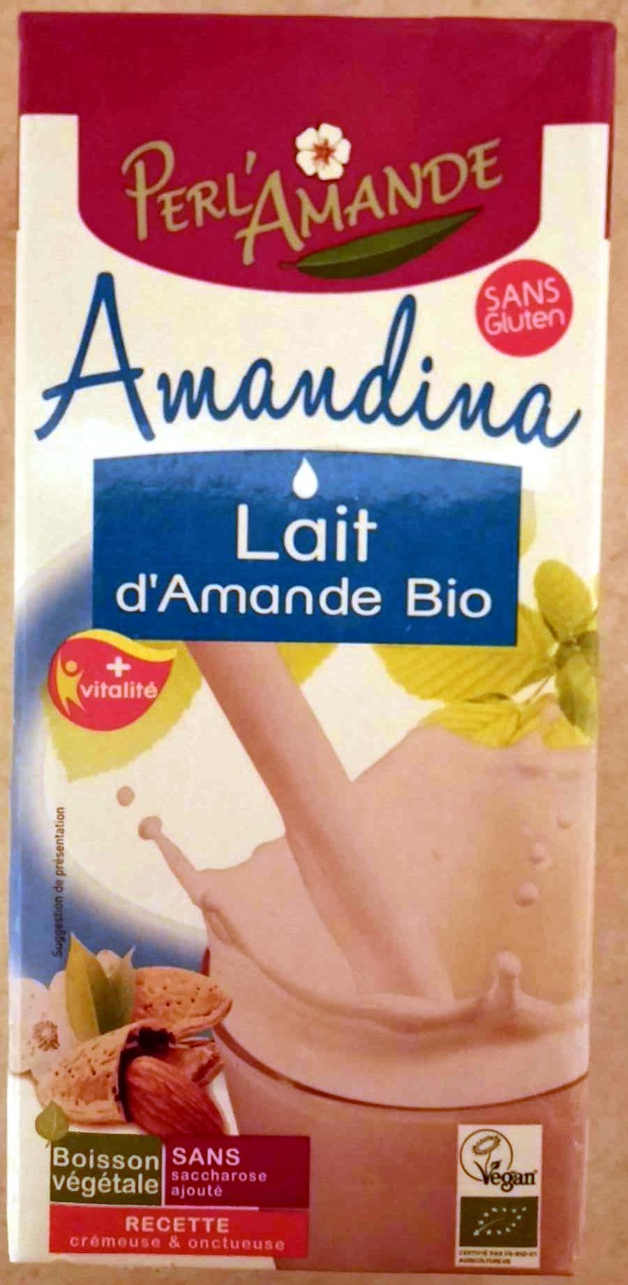 Amandina, Lait d'Amande Bio - Product