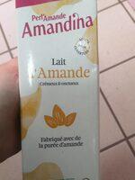 Amandina, Lait d'Amande Bio - Product - fr