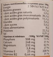 Purée d'amandes complète - Valori nutrizionali - fr