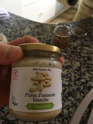 Puree amande blanche - Produit