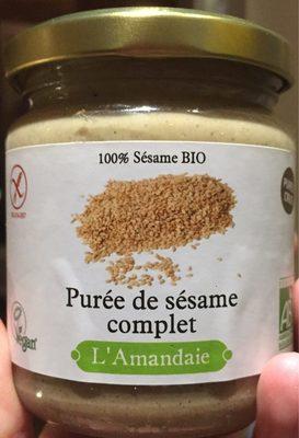 Purée de Sésame Complet - Produit