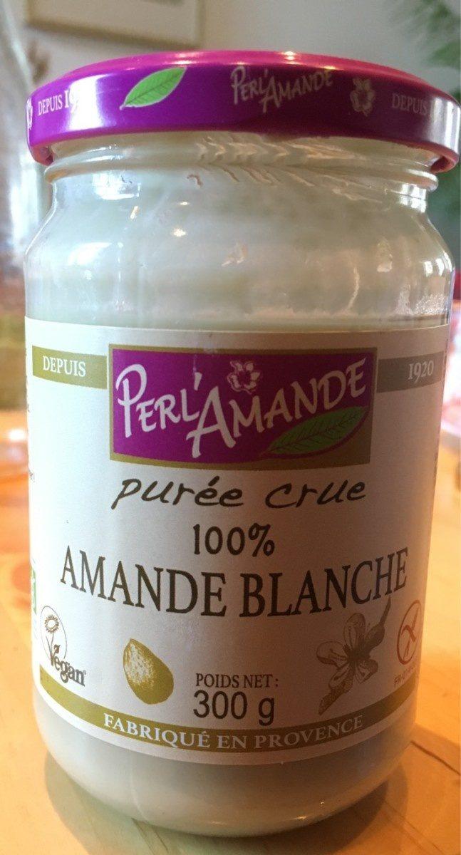 Purée crue 100% amande blanche - Product - fr