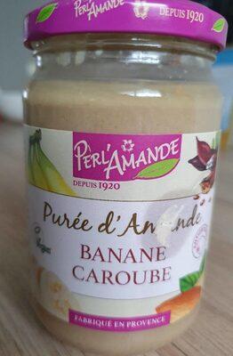 Purée d'amande banane caroube - Product - fr