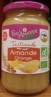 Tartinade Amande Orange - Produit