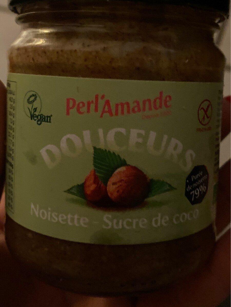 Douceur noisette sucre de coco - Product
