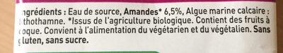Amandina - Ingrediënten
