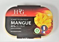 Sorbet plein fruit MANGUE, 45 % de fruit - Producto - fr