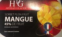 Sorbet Mangue HISTOIRES DE GLACES - Producto