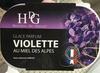 Glace parfum Violette au miel des Alpes - Product