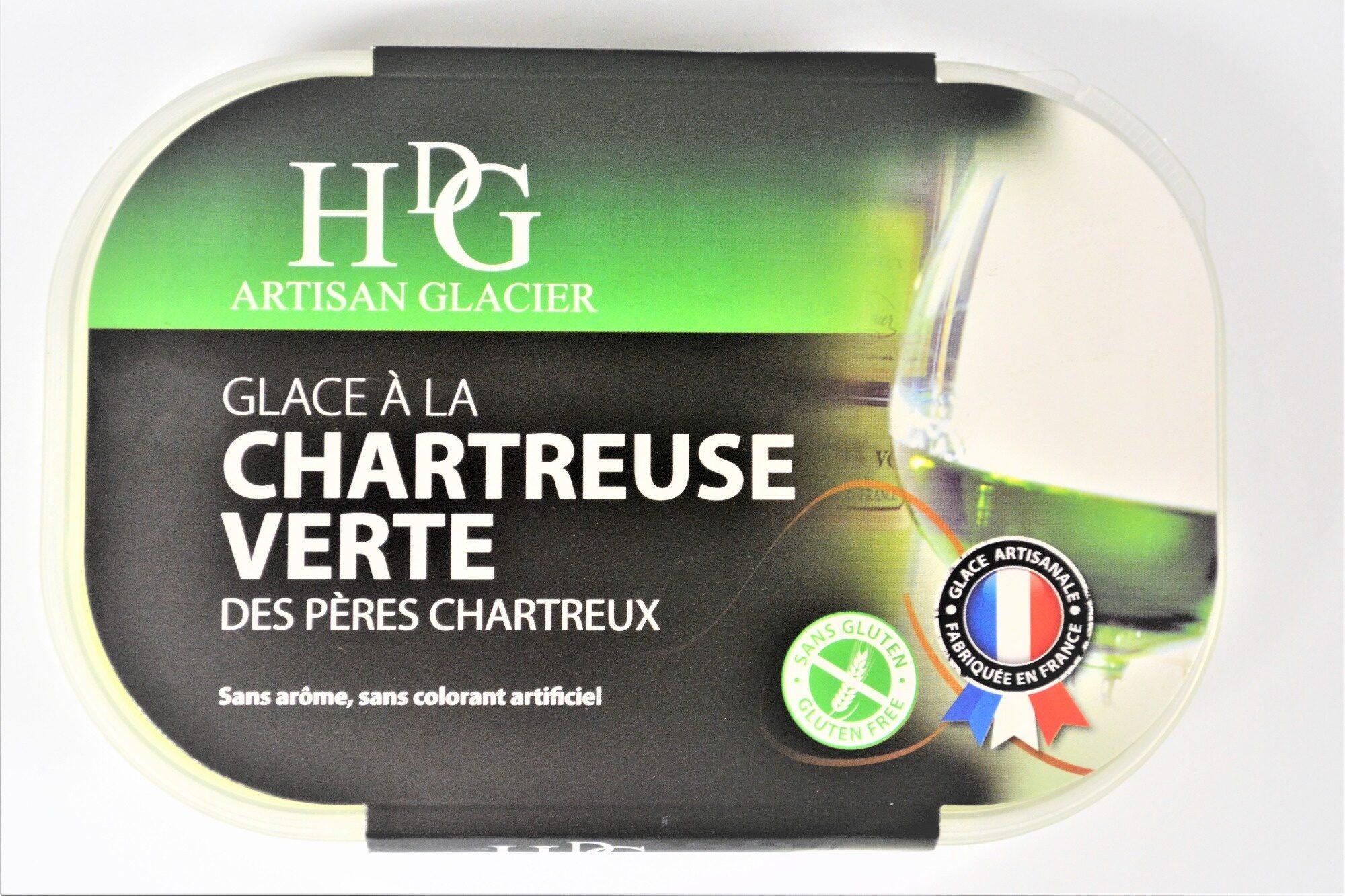 Glace à la CHARTREUSE VERTE, des Pères Chartreux - Product