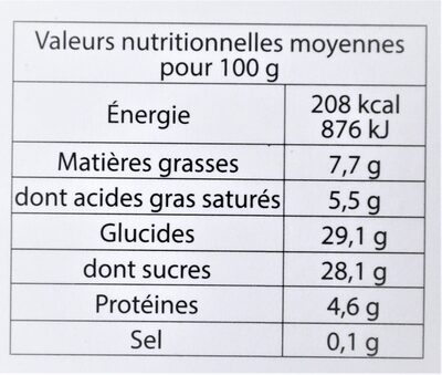 Glace au CHOCOLAT NOIR, copeaux de chocolat Suisse - 10