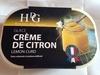 Glace crème de citron - Produit