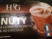 Histoires de glaces Glace nuty à la pâte de noisette & au cacao Le bac de 750 - Product