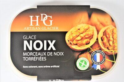 Glace NOIX & morceaux de noix torréfiées - Product