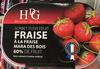 """Sorbet à la fraise """"Mara des Bois"""" 60% de fruit - Produit"""