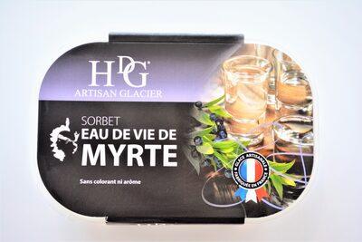 Sorbet Eau de vie de Myrte - Produit