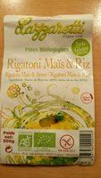 Rigatoni Maïs et Riz - Produit - fr