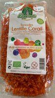 Torsades lentille corail - Product - fr