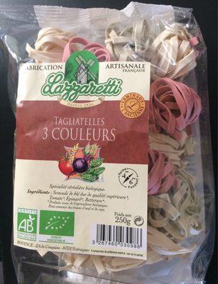 Tagliatelles 3 couleurs - Product - fr