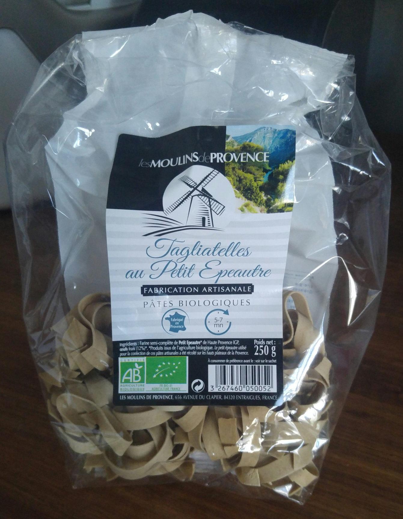 Tagliatelles de petit epeautre aux oeufs - Product