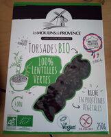 Torsades 100% lentilles verte origine France - Produit - fr