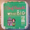 Œufs Bio - Produit