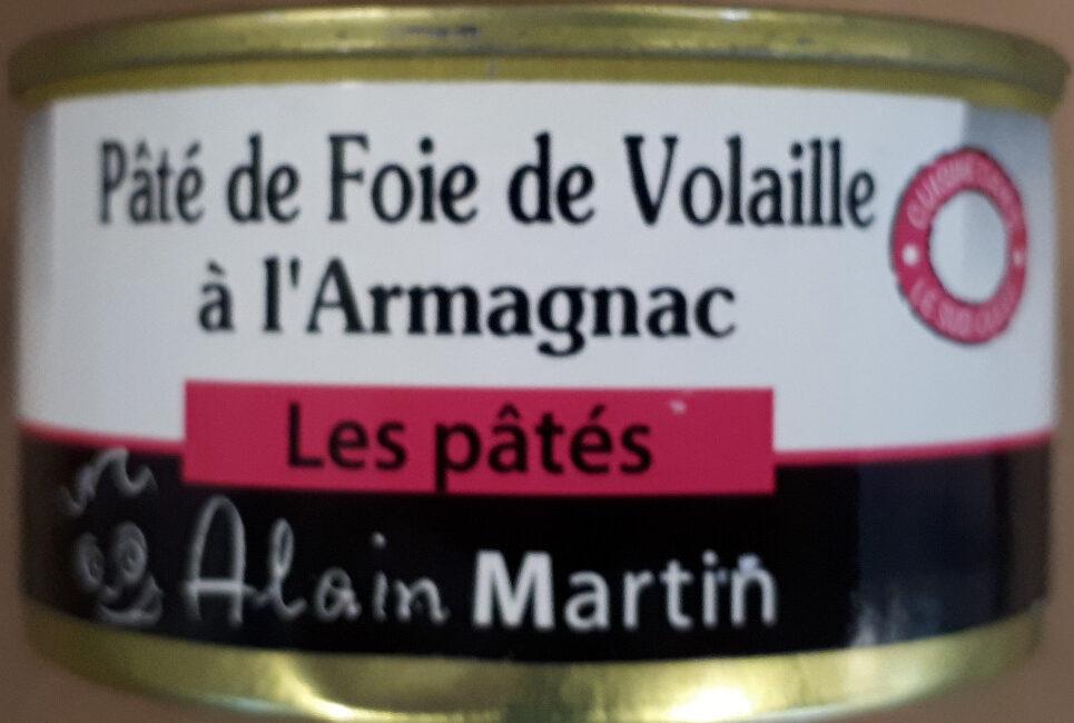 Pâté de foie de volaille à l'Armagnac - Product - fr