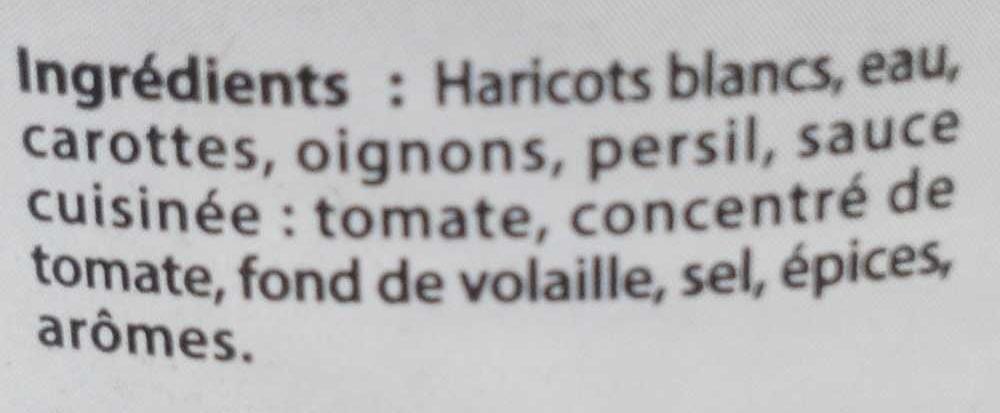 Mogettes Cuisinées à la Charentaise - Ingredients
