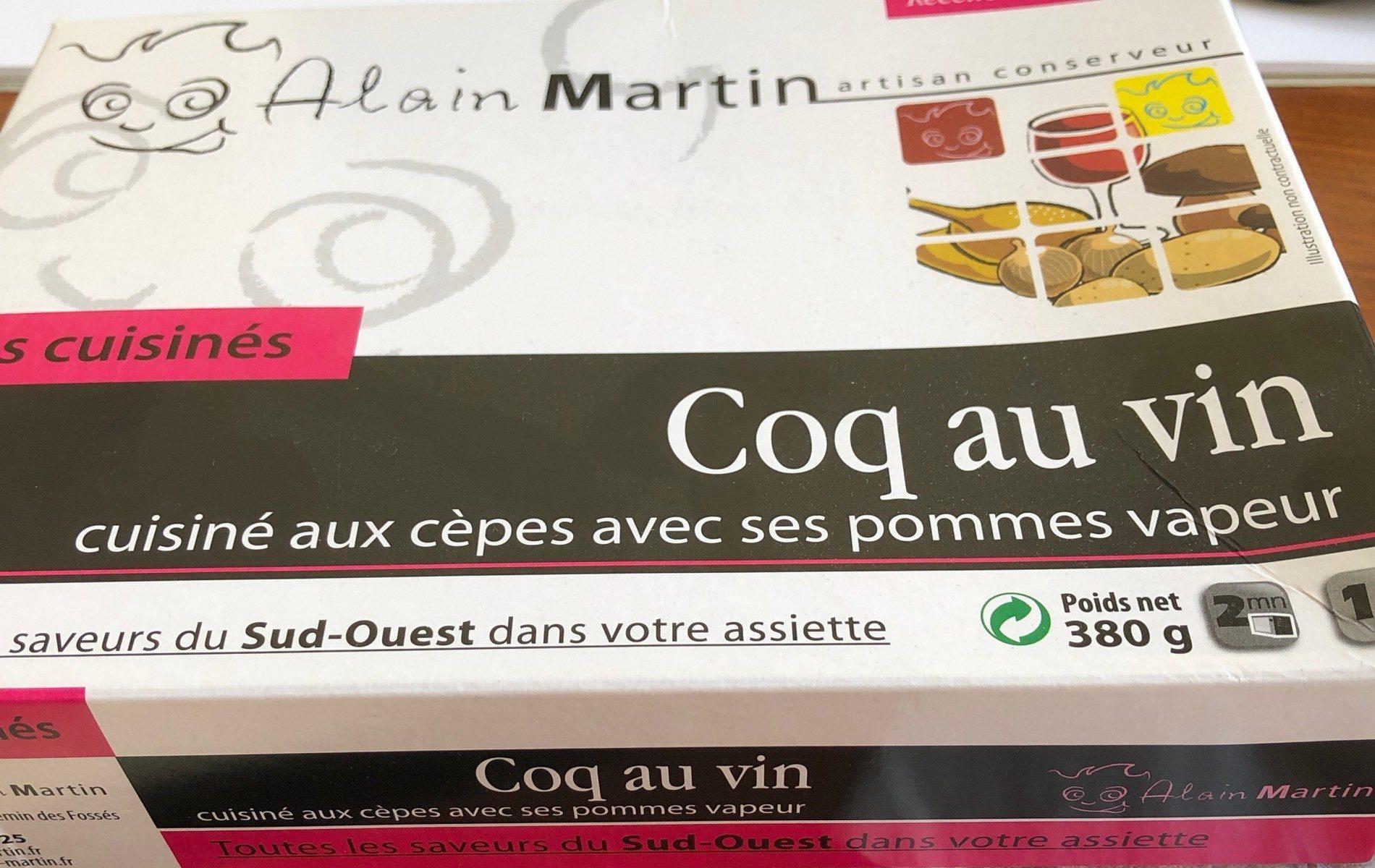 Coq au vin - Produit - fr