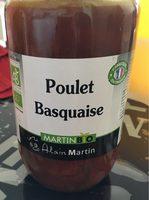 Poulet basquaise bio - Produkt - fr