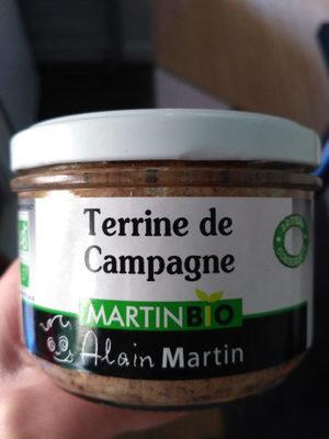 Terrine de campagne Martin Bio - Produit
