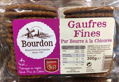Gaufres fines Pur Beurre à la Chicorée - Product