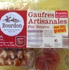 Gaufres artisanales pur beurre - Product