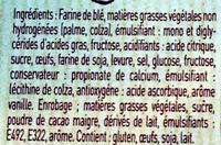 Gaufre Liégeoise Choco - Ingredientes