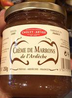 Creme de marrons de l'Ardeche - Produit - fr