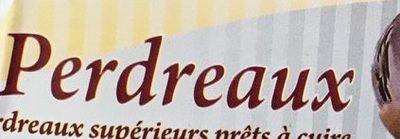 Perdreaux - Ingrédients - fr