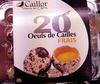 20 oeufs de Cailles frais - Product