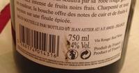 Côtes du Rhône - Voedigswaarden