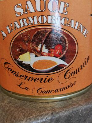 Sauce Armoricaine COURTIN - Produit