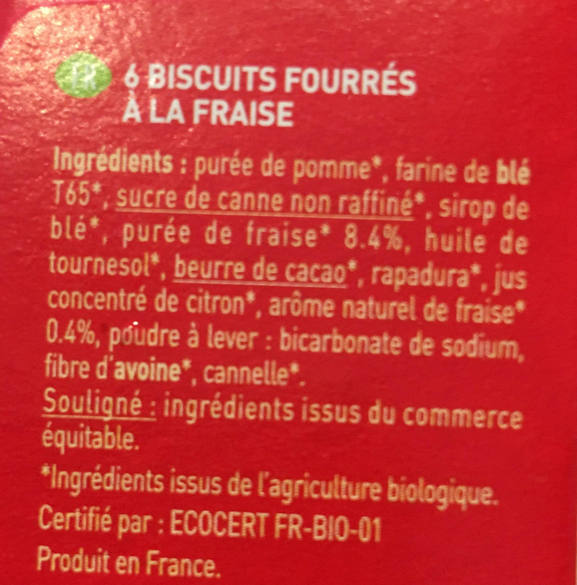 Twibio Fraise - Ingrédients - fr