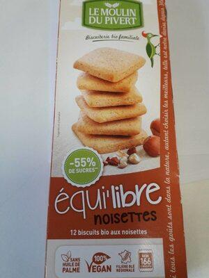 équi'libre noisettes - Product - fr
