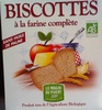 Biscottes à la farine complète - Product