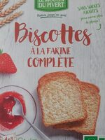 Biscottes à la farine complète - Produit - fr