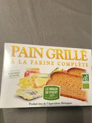 Pain grillé à la farine complète - Produit