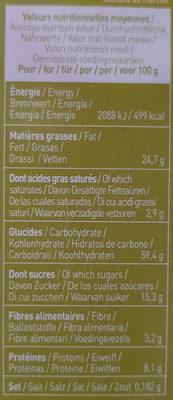 Equi'libre céréales et graines - Informations nutritionnelles - fr