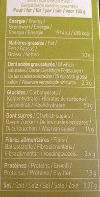 Equi'libre céréales et graines - Valori nutrizionali - fr